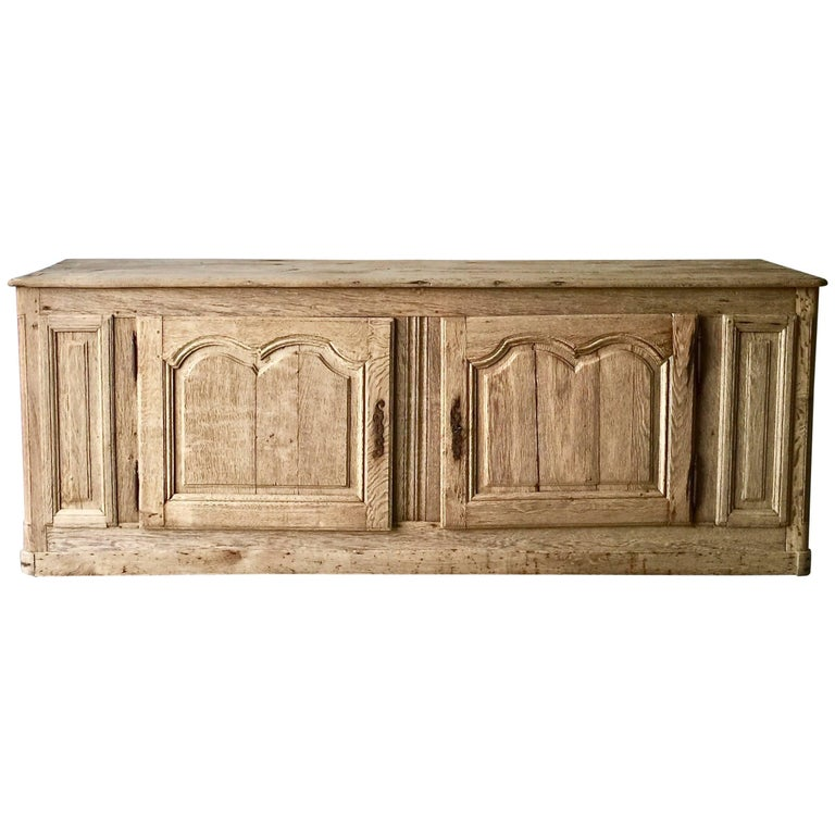 19th Century French Louis XV Manner Sideboard For Sale