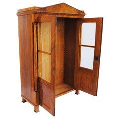 19th Century Biedermeier Double-Door Closet