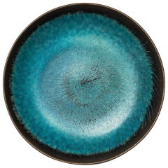 Stig Lindberg Ceramic Bowl by Gustavsberg in Sweden