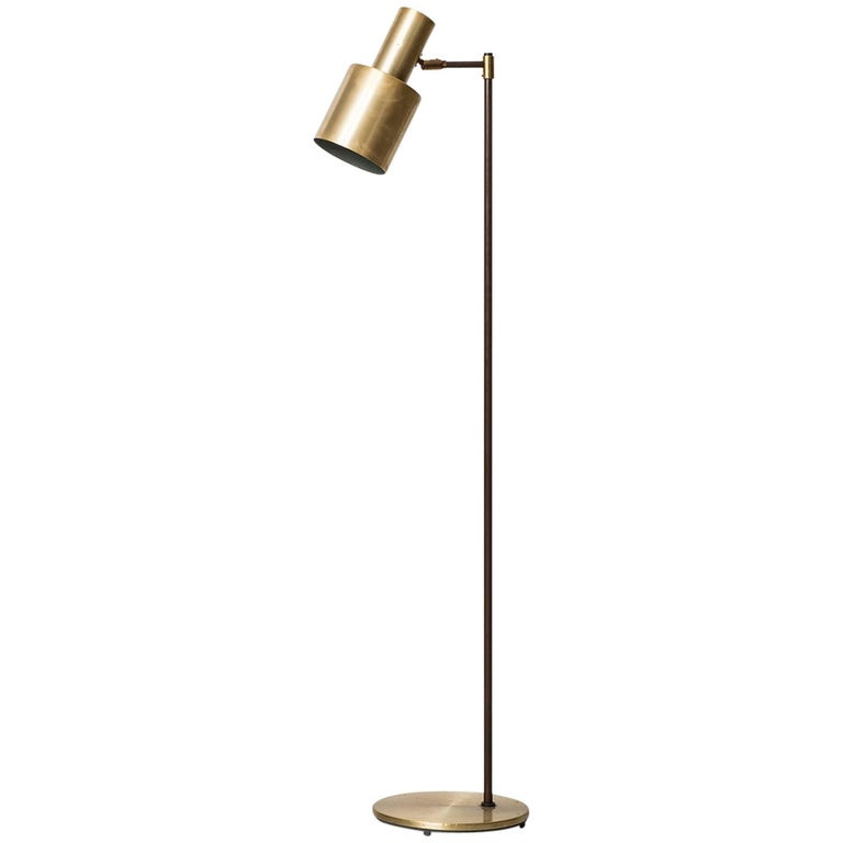 Jo Hammerborg Floor Lamp Model Studio Produced by Fog & Mørup in Denmark
