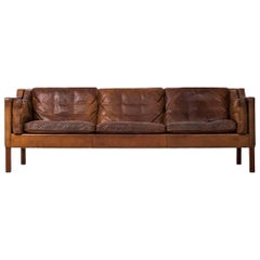 Børge Mogensen Sofa Model 2213 by Fredericia Stolefabrik in Denmark