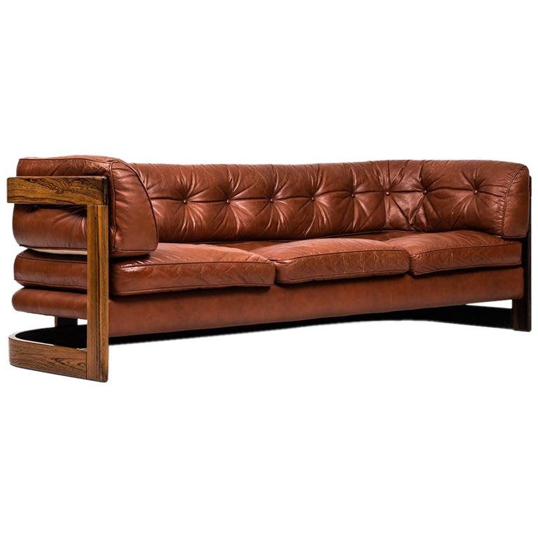 Lennart Bender Three-Seat Sofa by Stjernmöbler in Sweden