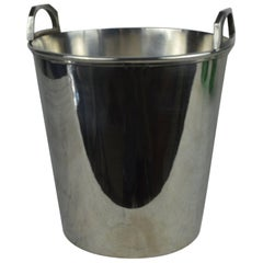 Vintage Art Deco Style Silver Plated Ice Bucket.