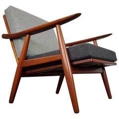 Hans J. Wegner GE-270 lounge Chair for GETAMA, Denmark, 1956