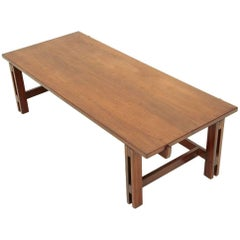 Mod. 751 Walnut Coffee Table by Ico Parisi for Cassina, 1960s