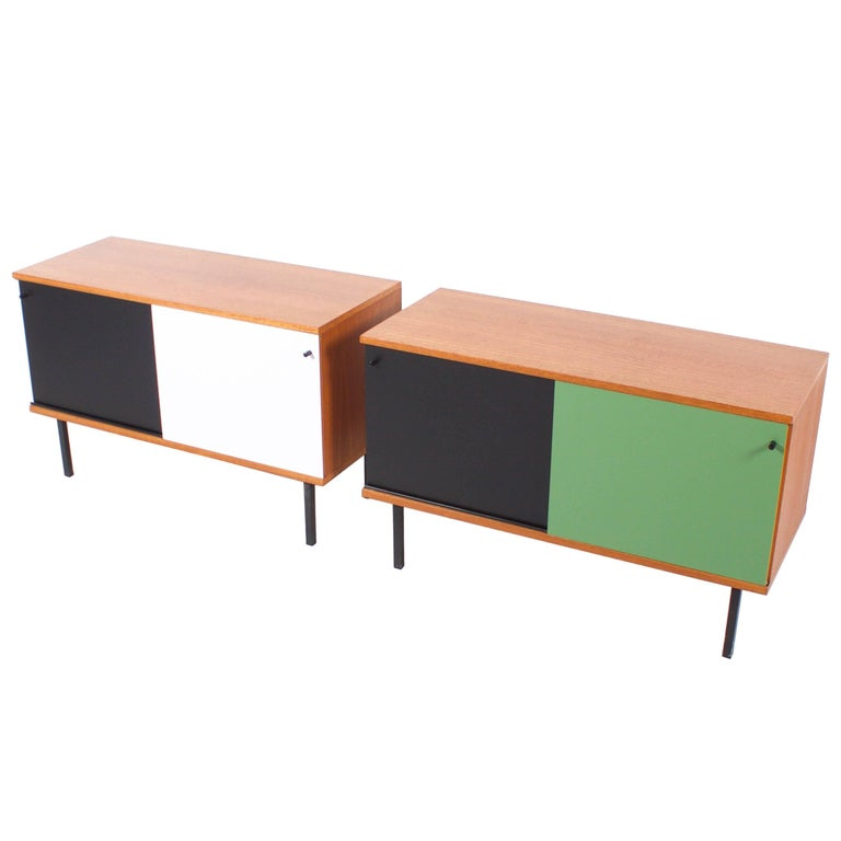 Teak Cabinets by Gunther Renkel for Rego, 1960s