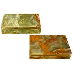 Italian Trinket Box in Onyx