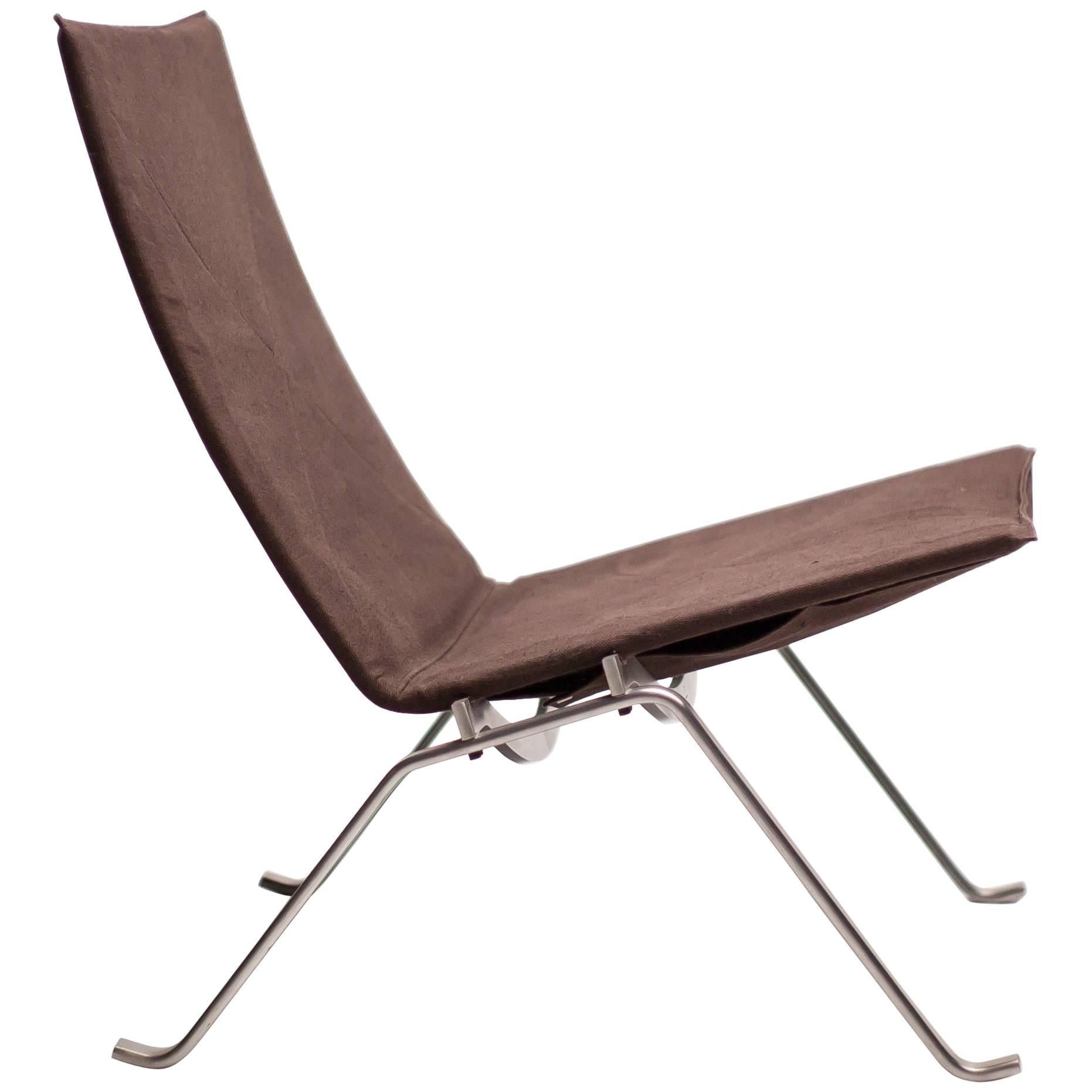Poul Kjaerholm PK22 In Canvas For Sale