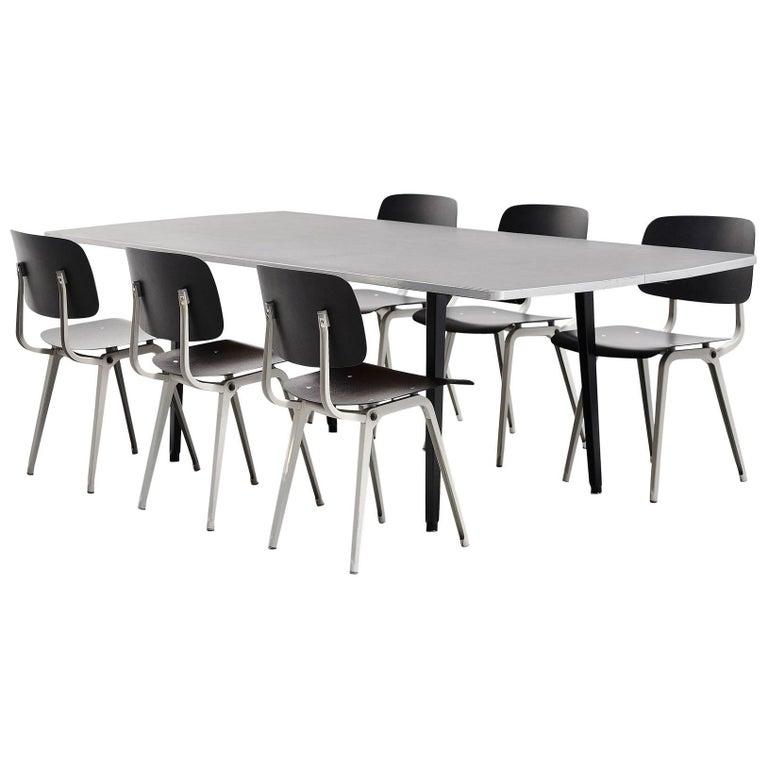 Friso Kramer Reform table Octagon, Ahrend de Cirkel 1955