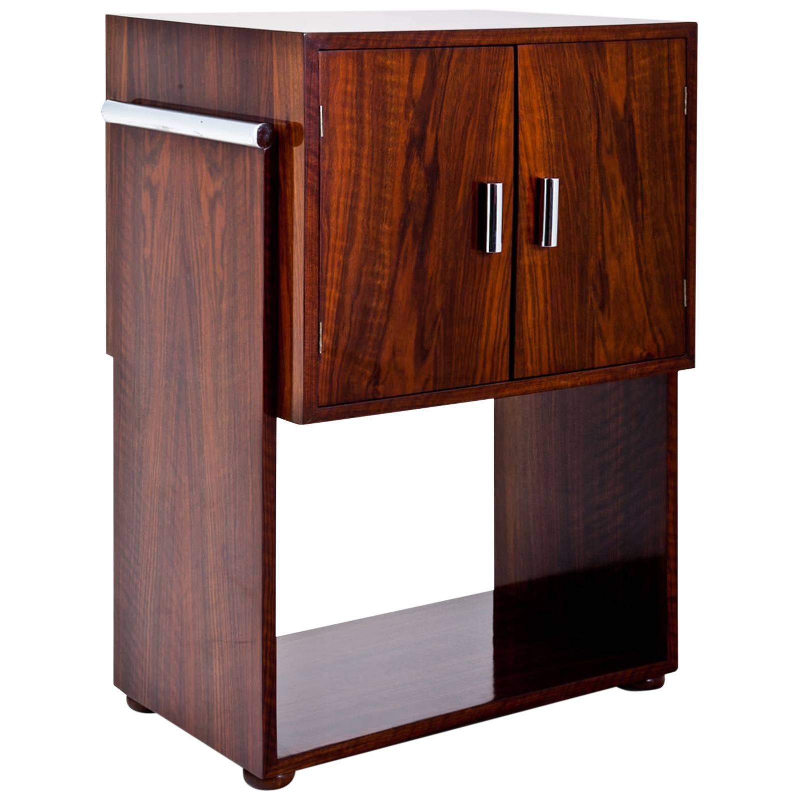Art Deco Bar Cabinet, 1940s For Sale