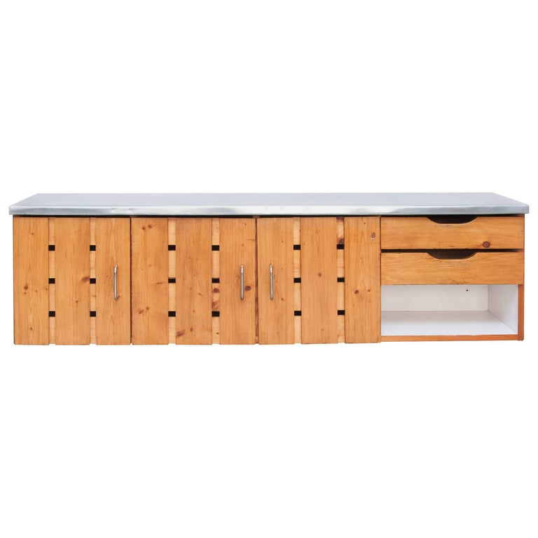 Charlotte Perriand Sideboard for Les Arcs, circa 1960 For Sale