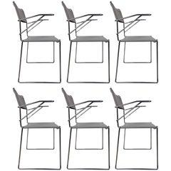 Set of 6 Italian Armchairs