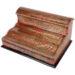 19th Century French Boulle Stationary Box