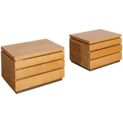 Jean Claude Mahey Bed Side Tables