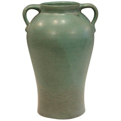 Genuine Bybee Matt Green Kentucky Southern Arts and Crafts Pottery Vase