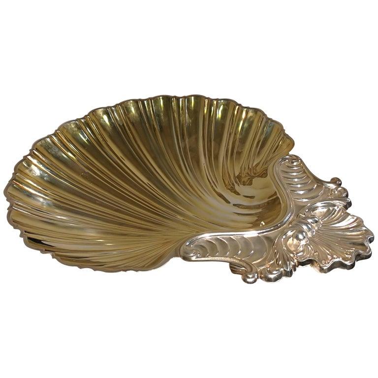 Silver Shell Centrepiece