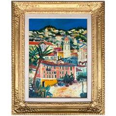 """""""Vue de Nice"""" Painting by Elisée Maclet"""