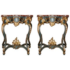 Pair of Early 19th Century French Consoles
