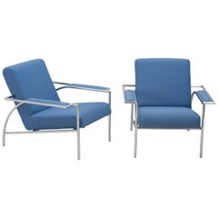 Gerard Vollenbrock for Gelderland, two lounge chairs and couch, 1980s