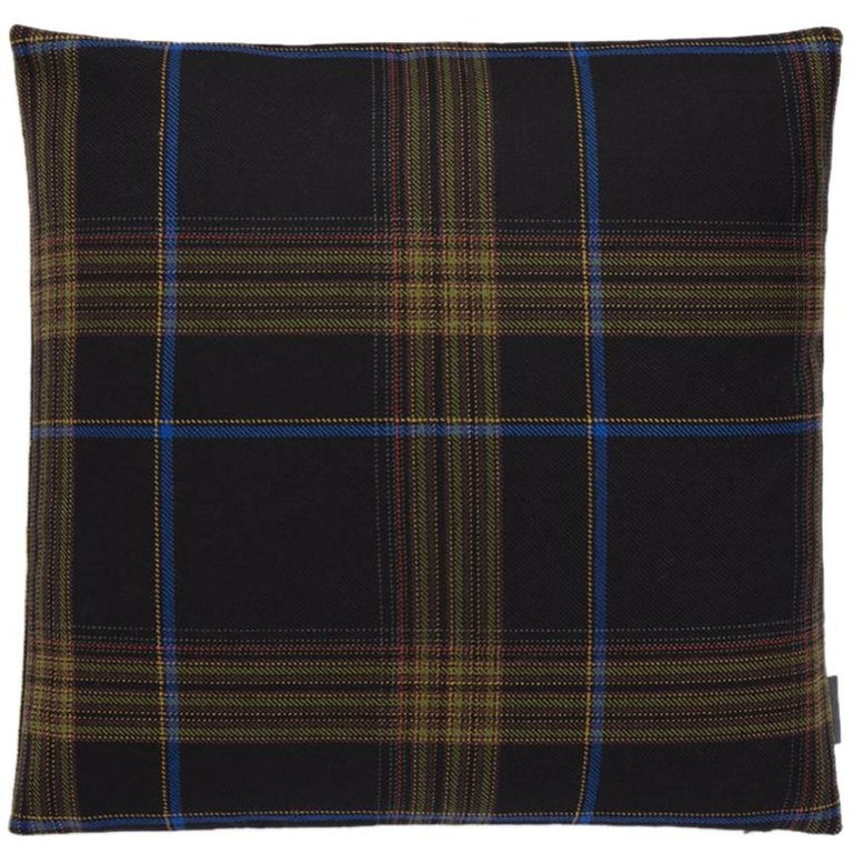 Maharam Pillow, Mingled Plaid by Paul Smith For Sale