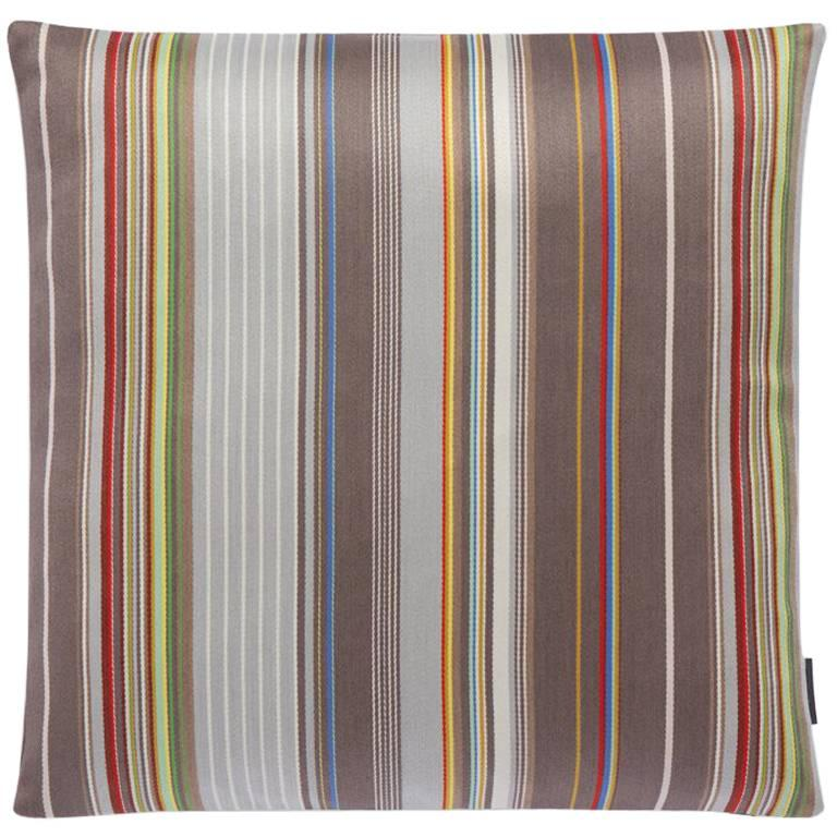 Maharam Pillow Sequential Stripe by Paul Smith For Sale