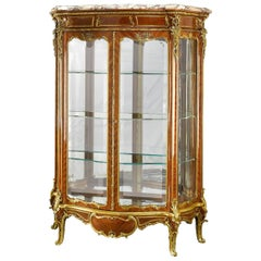 19th Century Rococo Vitrine by Linke and Zwiener