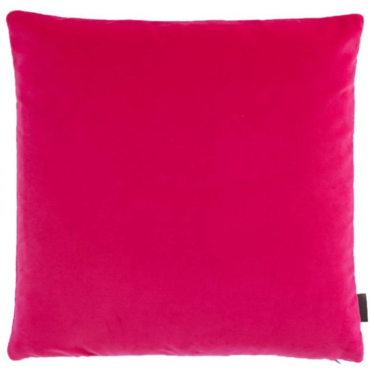 Maharam Pillow, Cotton Velvet For Sale