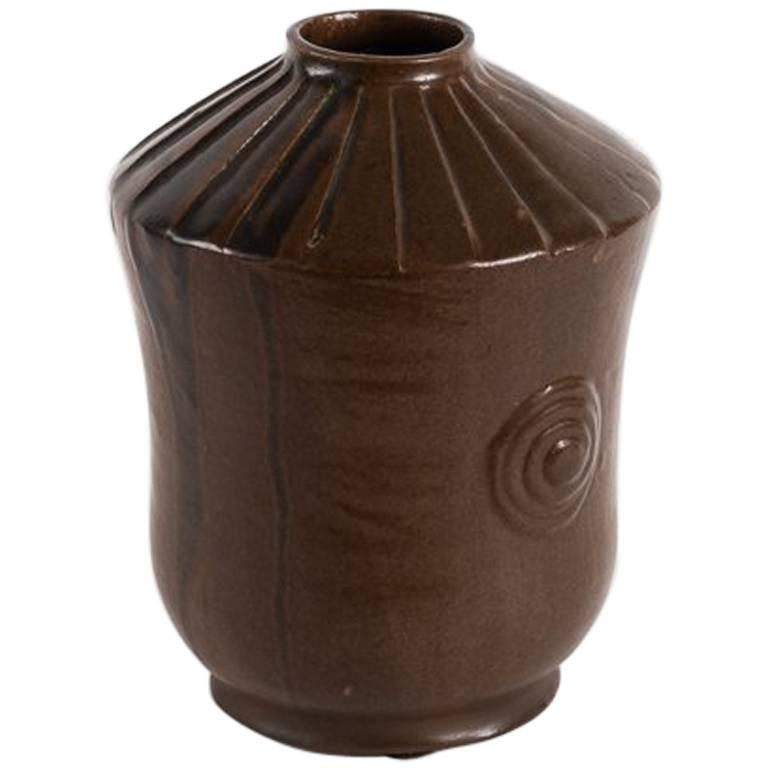 Primavera, Art Deco Vase, France, C. 1925 For Sale