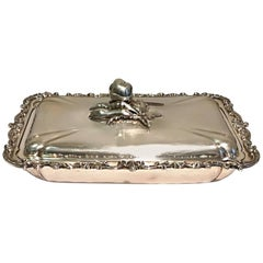 Silver Tray with Top