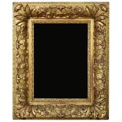 Victorian gilt gesso picture frame