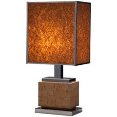 French Modern Cork Lamp