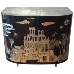 'Grand Coromandel' Chest of Drawers by Fornasetti