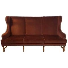 "Louis XIII Large Sofa ""Os De Mouton"""