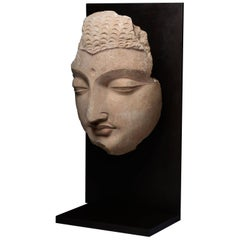 Exceptional Ancient Gandharan Buddha Sculpture, 350 AD
