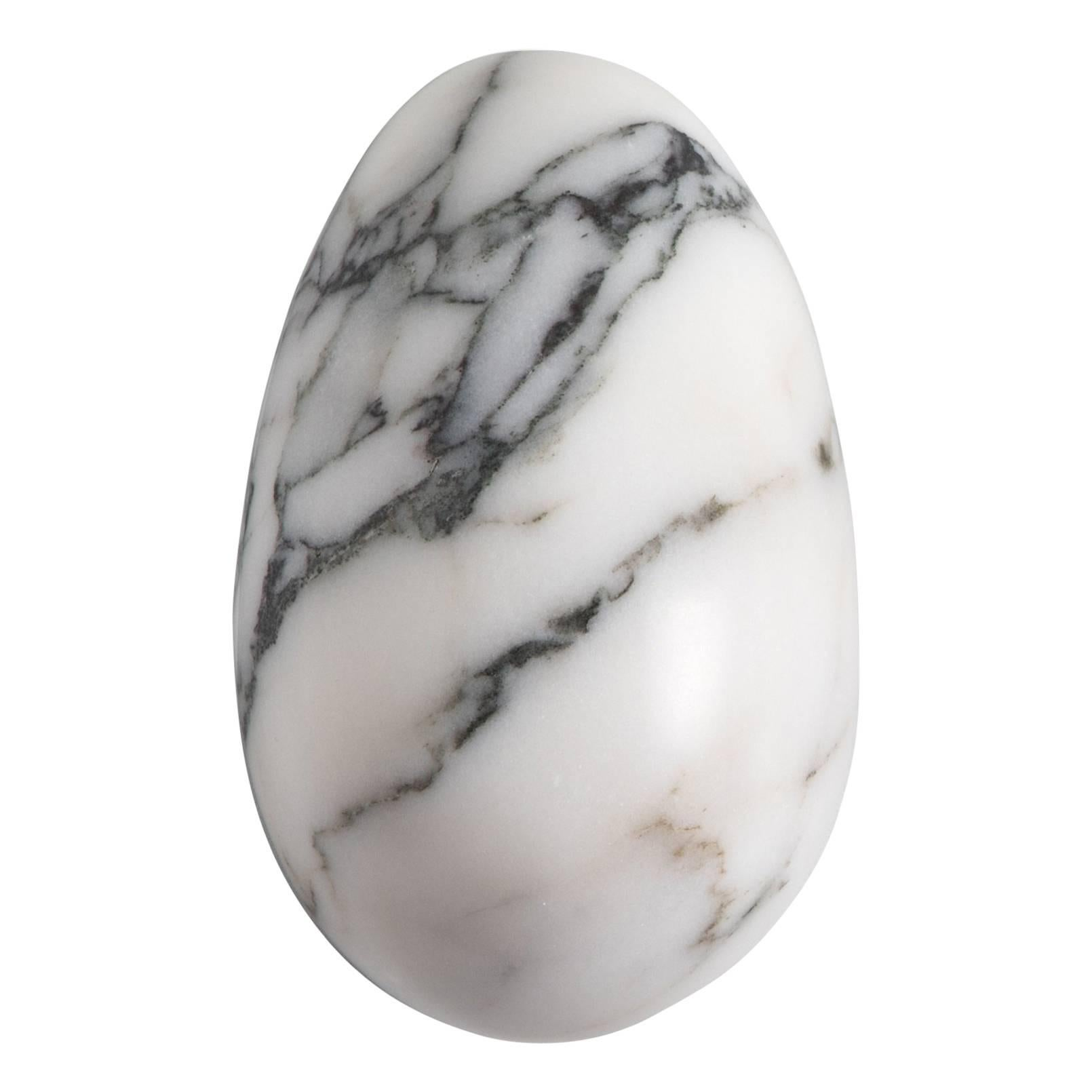 Paonazzo Marble Paperweight with Mouse Shape