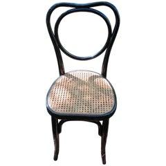 J J Kohn Bentwood Ebonized Chairs, 19th Century Austria