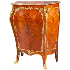 19th Century Louis XV Style Side Cabinet in the Manner of J-E Zwiener