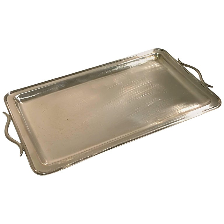 Little Silver Tray with Handles