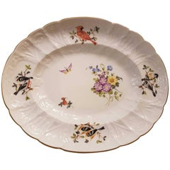 Herend Modern Dish Hand-Painted Porcelain in Rococo Style