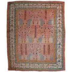 Antique Ushak carpet, Turkey