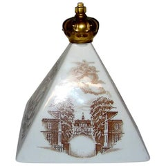 Bing & Grondahl Paperweight Formed Like a Pyramid