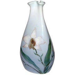 Bing and Grondahl Art Nouveau Vase in a Triangular Form #3226/58