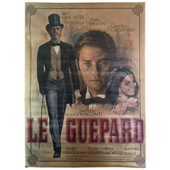 "Jean Mascii Original Poster of ""Le Guépard"", Movie from Luchino Visconti"