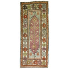 Vintage Anatolian Throw Size Runner