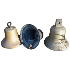 Collection of Three Bronze Bells