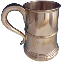 Hannah Hull by Tuttle Sterling Silver Mug Tankard Large Hollowware (#2140)