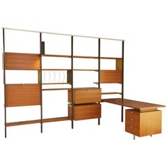 CSS Wall Unit with Desk by George Nelson for Herman Miller