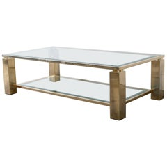 23-Carat coffee table Belgo Chrome