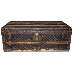 20th Century Louis Vuitton Damier Trunk