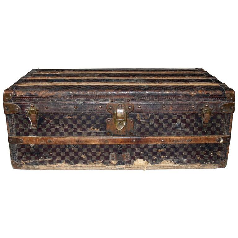 20th Century Louis Vuitton Damier Trunk
